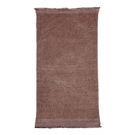 tapis coton jute house doctor shander burnt henna Rm0110-90x200