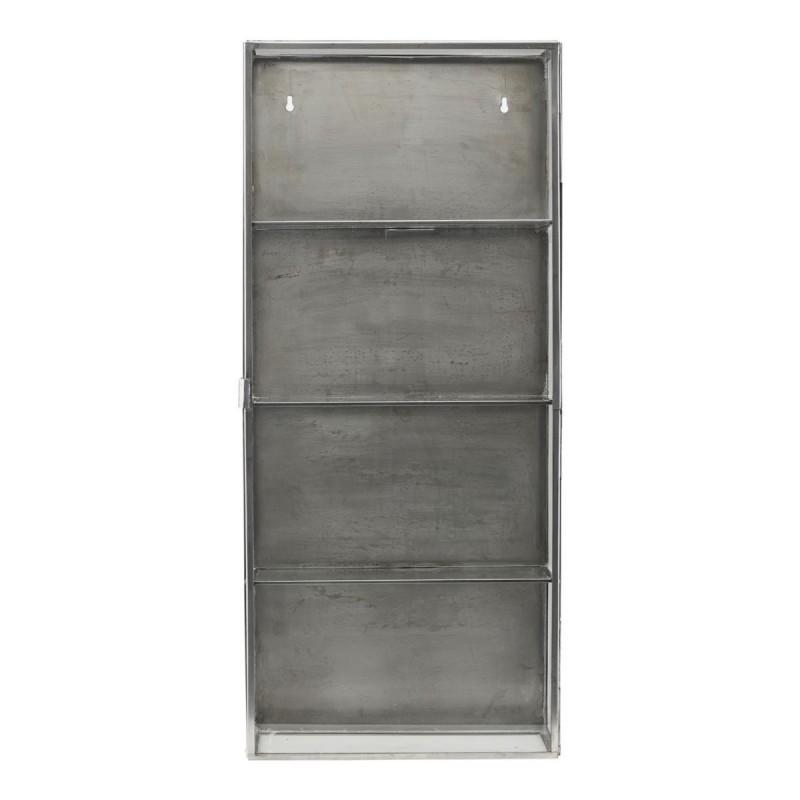 vitrine etagere murale vintage metal verre house doctor cabinet zinc cb0762. Black Bedroom Furniture Sets. Home Design Ideas