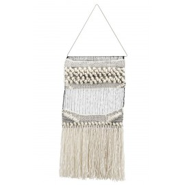 decoration murale macrame tissage coton boheme house doctor plen Jd0310