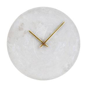 horloge murale ronde beton gris house doctor Cs0822