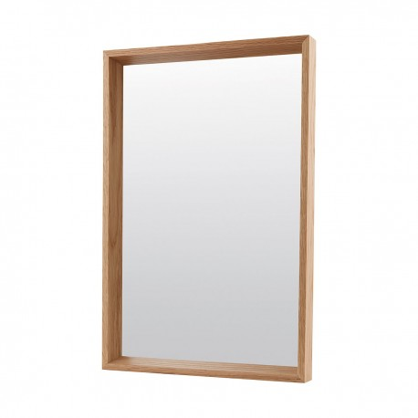 miroir chene house doctor oak 40 x 60 cm
