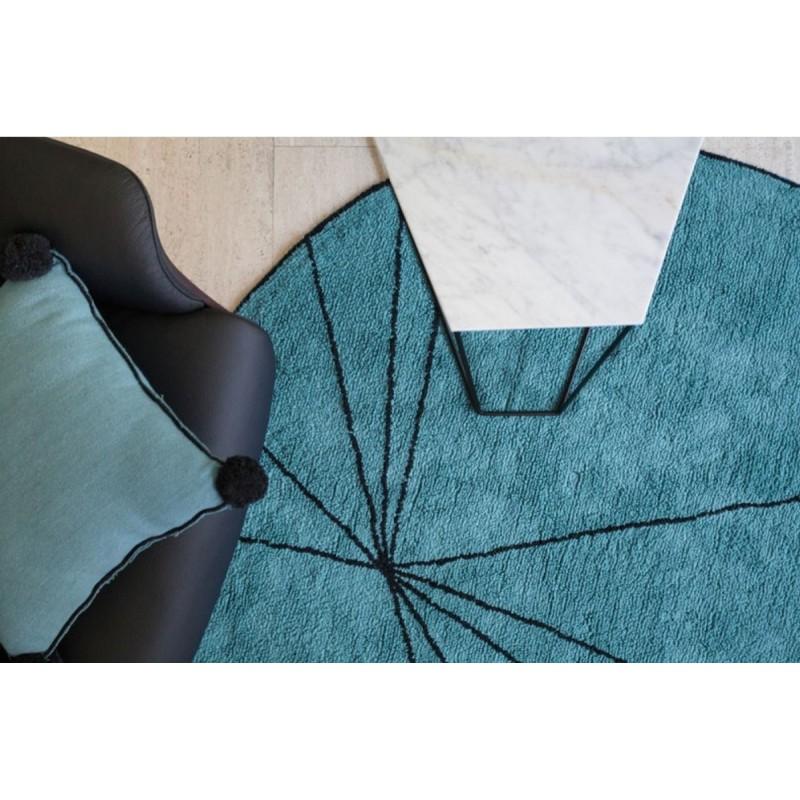 tapis rond lavable lorena canalc trace petroleum c trace petro. Black Bedroom Furniture Sets. Home Design Ideas
