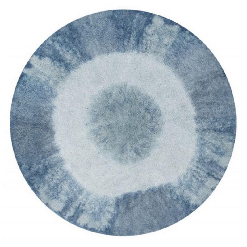 tapis rond lavable lorena canals tie dye vintage bleu 160 cm c tie vintbl. Black Bedroom Furniture Sets. Home Design Ideas