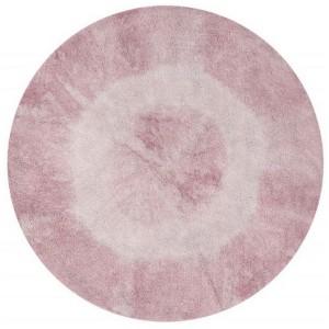 tapis rond lorena canals Tie-Dye Vintage Nude C-TIE-VINTNU