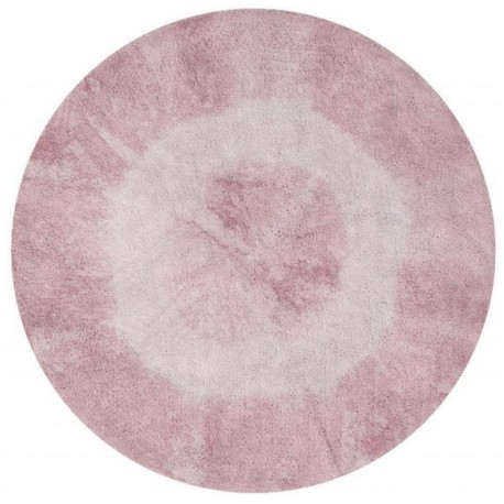 Tapis rond Lorena Canals Tie-Dye Vintage Nude 150 cm