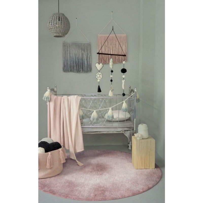 tapis rond lorena canals tie dye vintage nude c tie vintnu. Black Bedroom Furniture Sets. Home Design Ideas