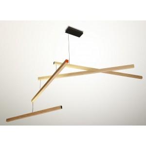 Lampe suspension mobile en bois presse citron tasso clown