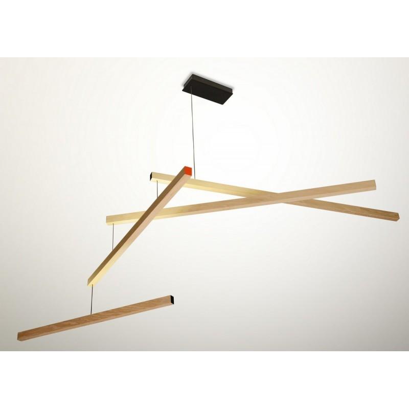 lampe suspension mobile en bois presse citron tasso clown. Black Bedroom Furniture Sets. Home Design Ideas