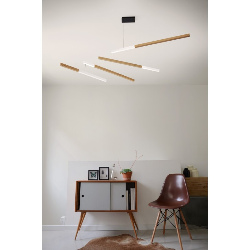 luminaire suspension bois mobile design presse citron tasso nez blanc. Black Bedroom Furniture Sets. Home Design Ideas