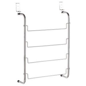 Porte serviette a suspendre sur porte metal Zeller