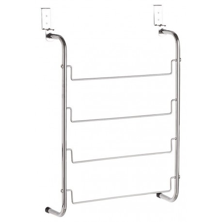 Porte-serviette à suspendre sur porte métal Zeller