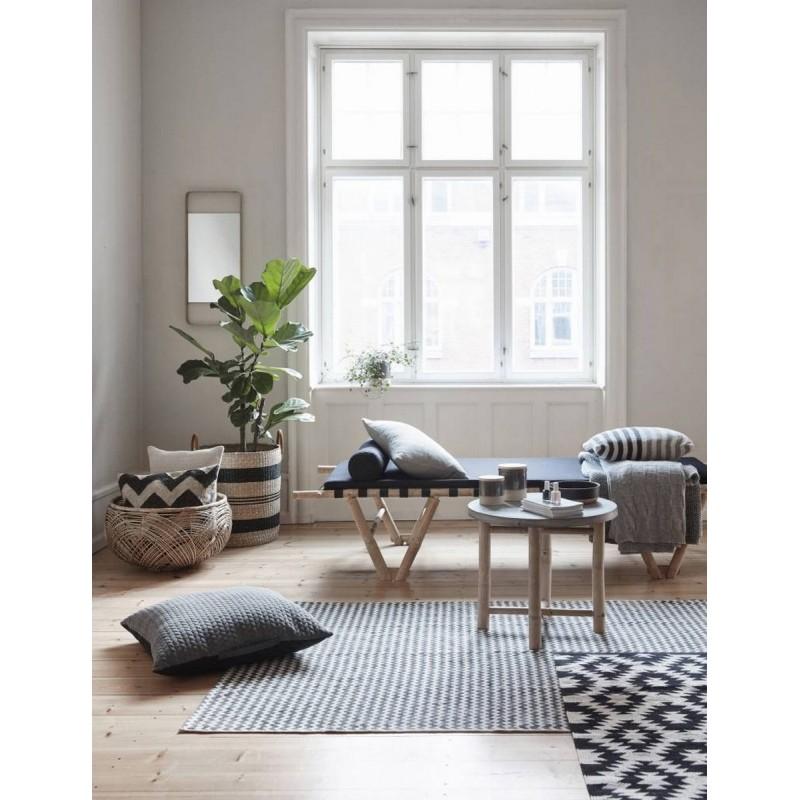 Wohnzimmer Im Hygge Stil Einrichten: Miroir Cadre En Laiton Hubsch 340115