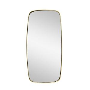 miroir mural laiton hubsch 340501