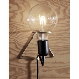 Applique murale ampoule laiton Hubsch