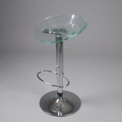 TABOURET DE BAR DESIGN KTRAC glass
