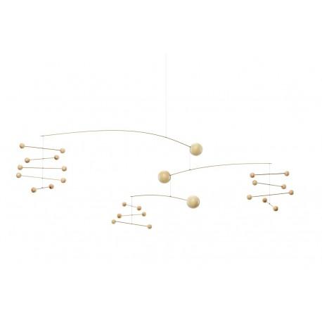 Mobile décoratif en bois Flensted Symphonie nature