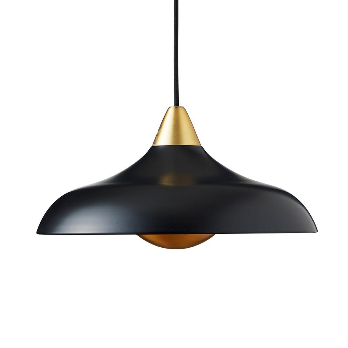 Suspension boule noire fashion designs for Suspension noire design
