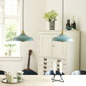 Suspension ronde design metal noir laiton Superliving Urban Wide