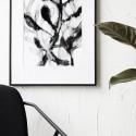 Décoration murale illustration encadrée House Doctor Herbaceous