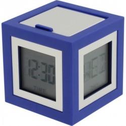 Petit réveil design bleu lexon cubissimo