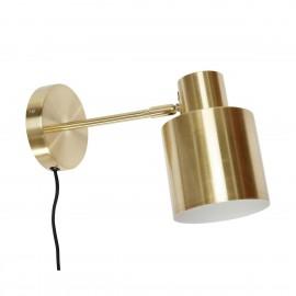 Applique métal doré laiton Hübsch