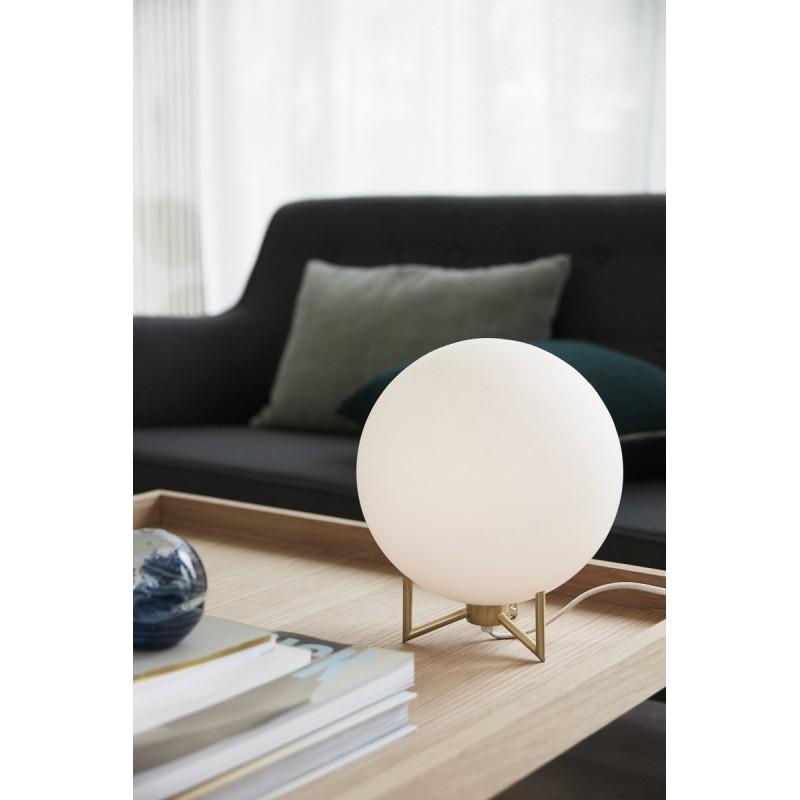 lampe de chevet boule blanche lampe de chevet. Black Bedroom Furniture Sets. Home Design Ideas