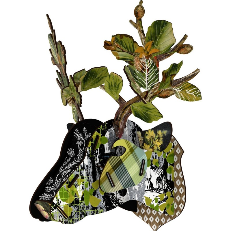 tete de cerf vert miho hello stranger cervo433000. Black Bedroom Furniture Sets. Home Design Ideas