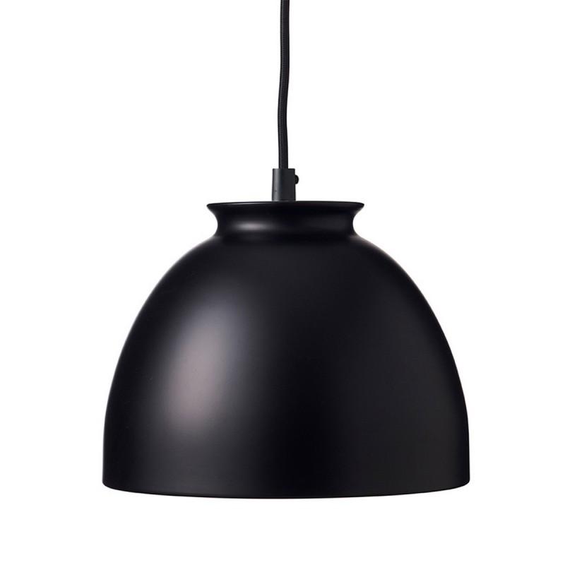 Suspension design noire metal superliving bloom sl06211 for Suspension noire design
