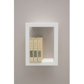Presse Citron Big High metal estanteria de pared blanco