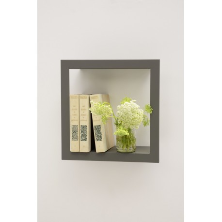 Presse Citron Bigstick metal estanteria de pared gris
