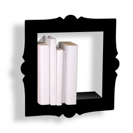 Presse Citron Barok small wall shelf frame black