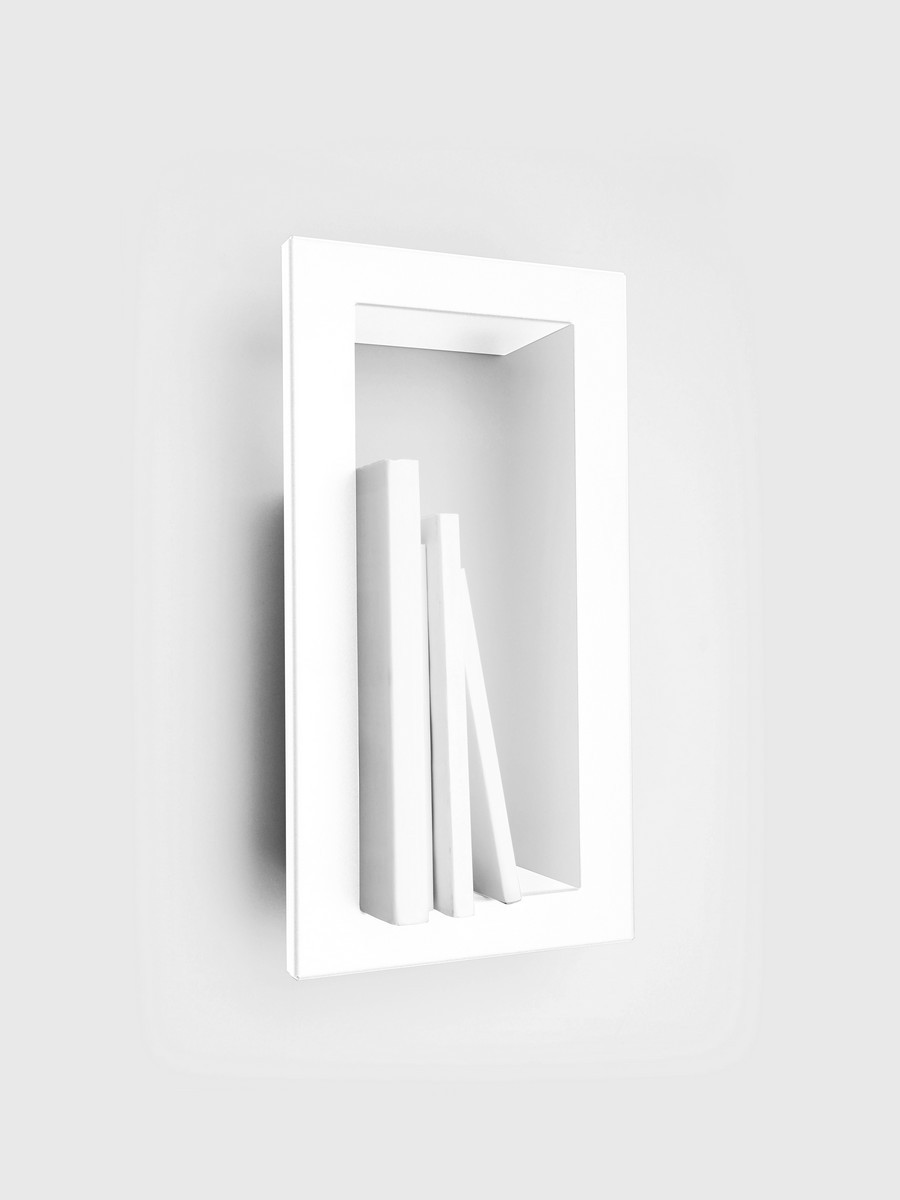 etagre cadre presse citron highstick blanc - Miroir Design Pas Cher