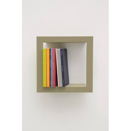 petite etagere carree presse citron stick lichen. Black Bedroom Furniture Sets. Home Design Ideas