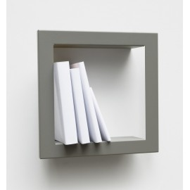Presse Citron Stick metal estanteria de pared gris