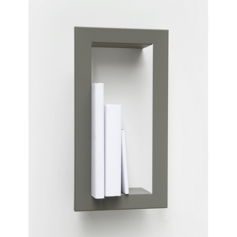 Etag re murale cadre presse citron highstick gris for Etagere porte cadre photo