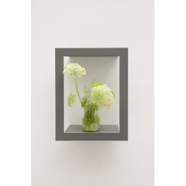 Presse Citron Big High metal estanteria de pared gris