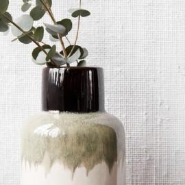 Vase terre cuite House Doctor Ruka Mokka