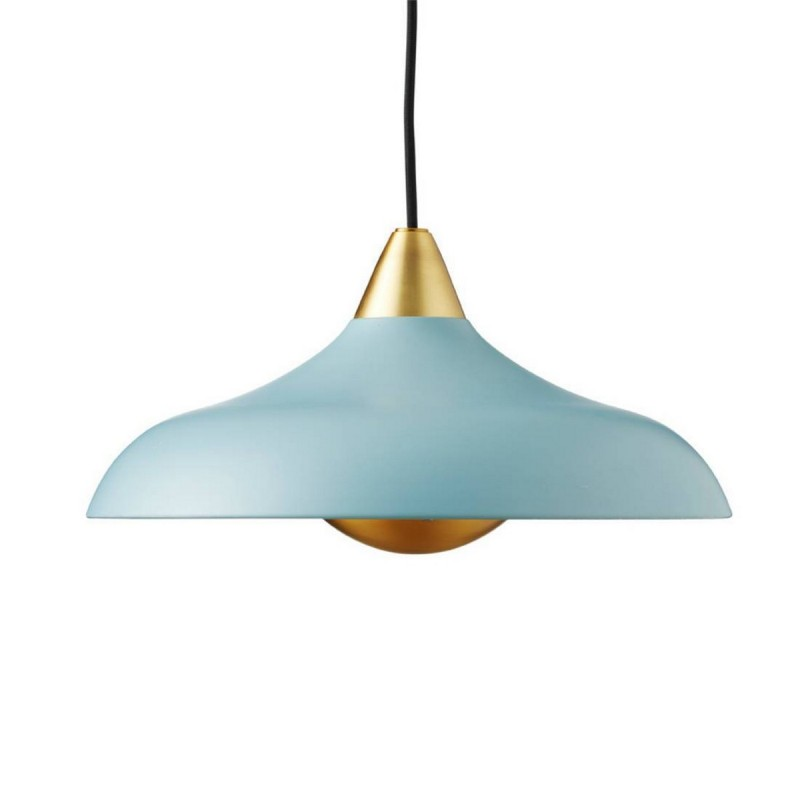 Suspension bleu pastel or urban wide super living sl06563 for Suspension bleu