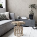 Table basse en rotin naturel House Doctor Nature