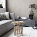 Table basse en rotin naturel House Doctor Nature