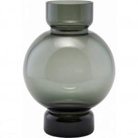 Vase verre gris design House Doctor Bubble