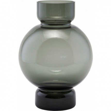 Vase verre gris design House Doctor Bubble