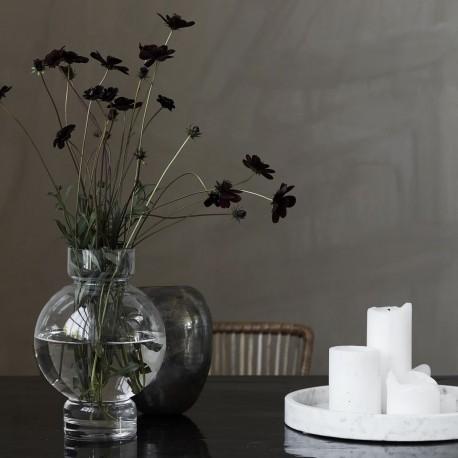 Vase verre transparent design House Doctor Bubble