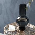 Vase haut verre gris House Doctor Bubble