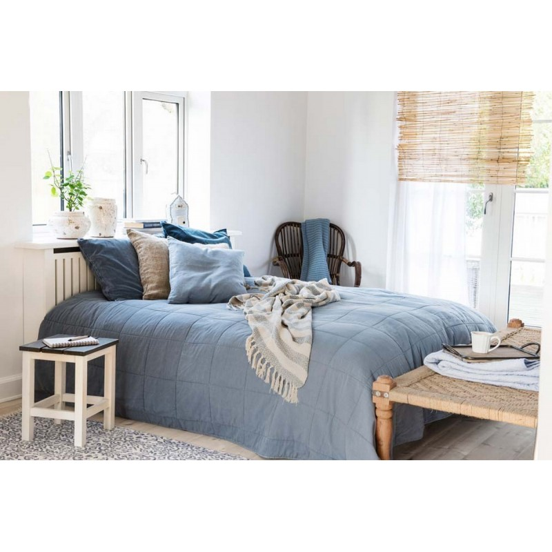Banc indien charpoy daybed meridienne bois et corde for Banc meridienne