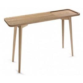 Table d'entrée console épurée en bois Versa Argos