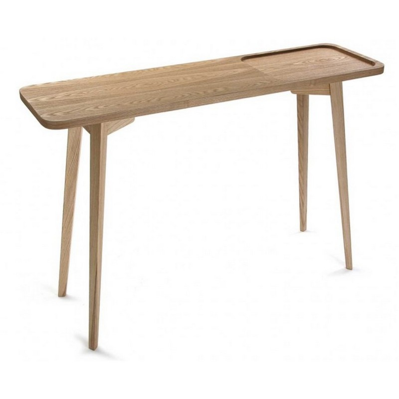 table d entree console epuree en bois versa argos. Black Bedroom Furniture Sets. Home Design Ideas