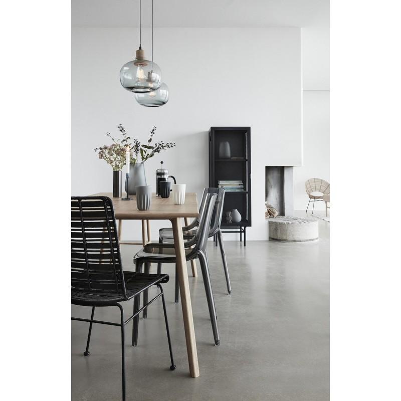 suspension en verre et liege design hubsch 950412. Black Bedroom Furniture Sets. Home Design Ideas