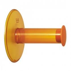 Dévidoir papier wc koziol plug n'roll orange