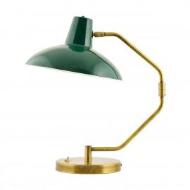 Lampe de table bureau classique laiton House Doctor Desk vert 31 cm